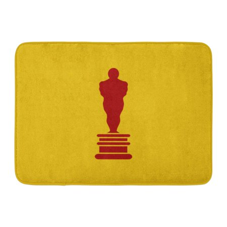 LADDKE Oscar Academy Award in Flat First Place Prize Man of The Year Reward Best Person Statue Doormat Floor Rug Bath Mat 23.6x15.7 (Welcome To The Best Years Of Your Life)