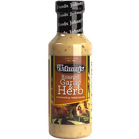 Johnnys Roasted Garlic And Herb  12 Oz