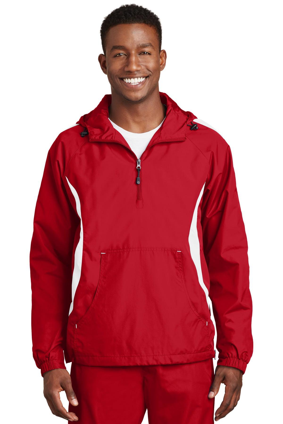 XXX-Large Sport-Tek/® Hooded Raglan Jacket Maroon