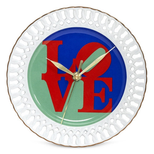 PS Collection Robert Indiana ''Love'' 8'' Wall Clock