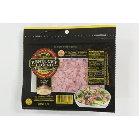 Kentucky Legend Hickory Smoked Diced Ham Gluten Free 8 Oz Walmart