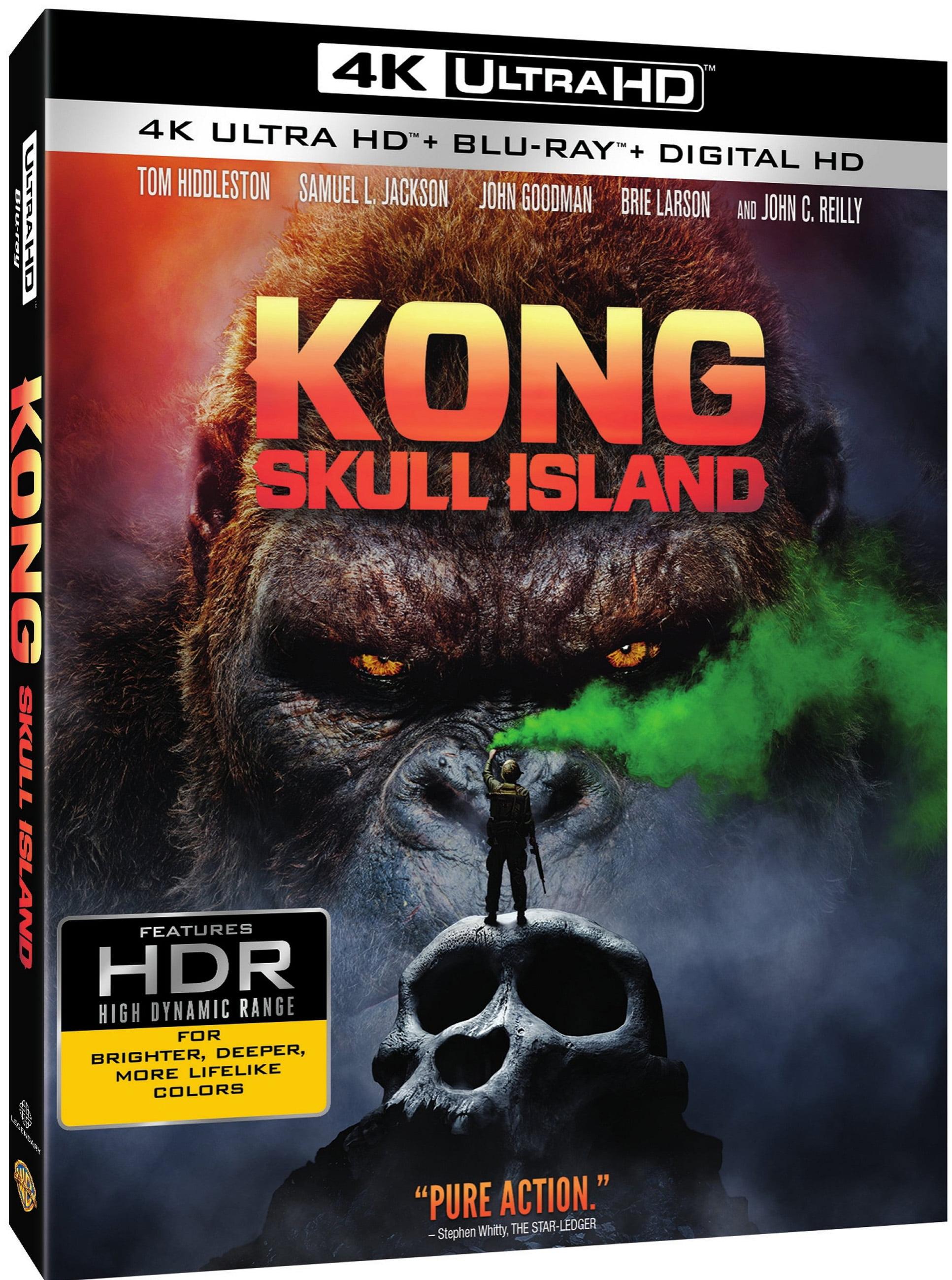 Kong: Skull Island (4K Ultra HD + Blu-ray + Digital HD) by
