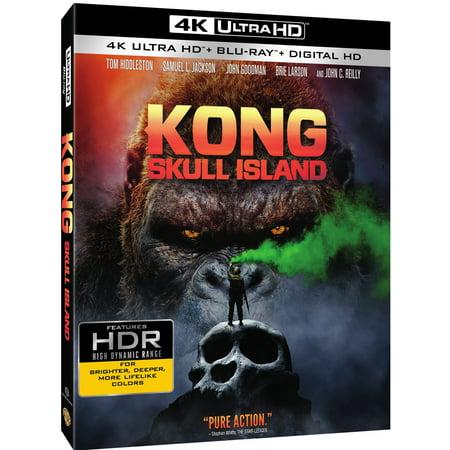 Kong  Skull Island  4K Ultra Hd   Blu Ray   Digital Hd