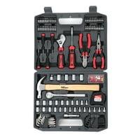 Hyper Tough 116 Piece Home Repair Tool Set Including Carry Case