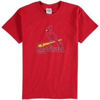 St. Louis Cardinals Youth Distressed Logo T-Shirt - Red