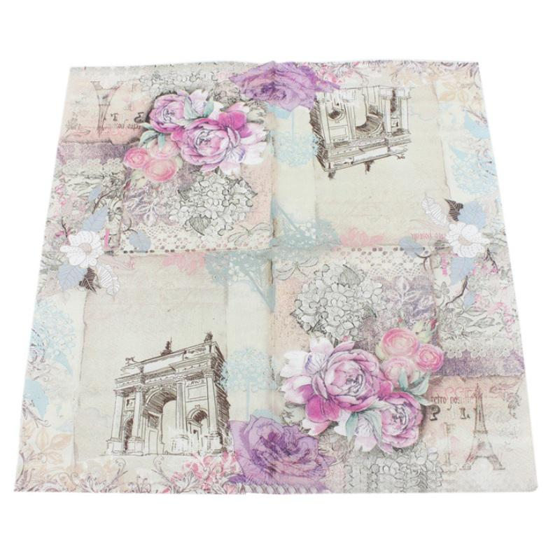 Art Style Flower 11/Tissue Napkins 33/x 33/cm Pack of 20