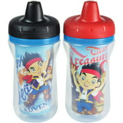 The First Years Disney Junior Jake and the Never Land Pirates Insulated Sippy Cup, BPA-Free, 9 oz, 2pk