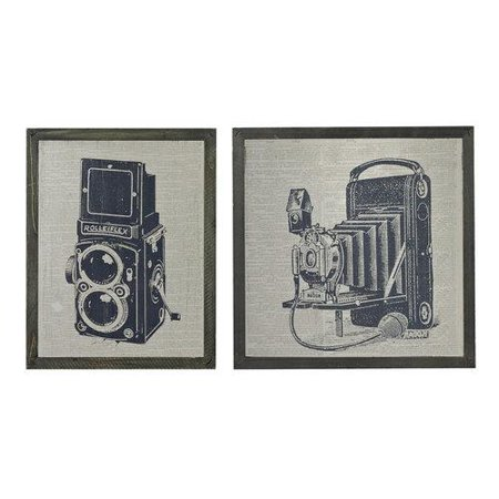 Sterling Industries 26-8662/S2 Wall Decor Home Decor Art Prints; Etched Black