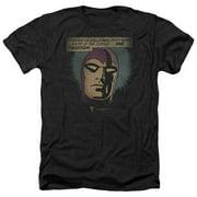 Phantom Evildoers Beware Mens Heather Shirt