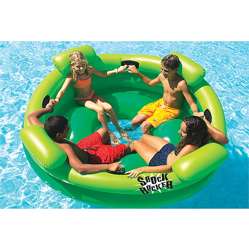 Shock Rocker Inflatable Pool Toy by INTERNATIONAL LEISURE PRODUCTS