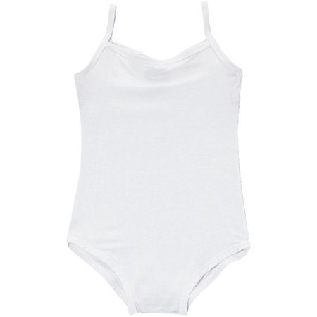 94a5b0f046e1 Wenchoice - Wenchoice Girl s White Spaghetti Strap Leotard - M(3T-4T ...