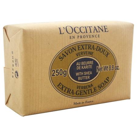 - L'Occitane Verbena Shea Butter Verbena Extra Gentle Soap, 8.8 Oz