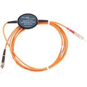 Fluke Networks MRC-625-STST Multimode Test Reference Cord for Testing 62.5/µm ST Terminated Fibers