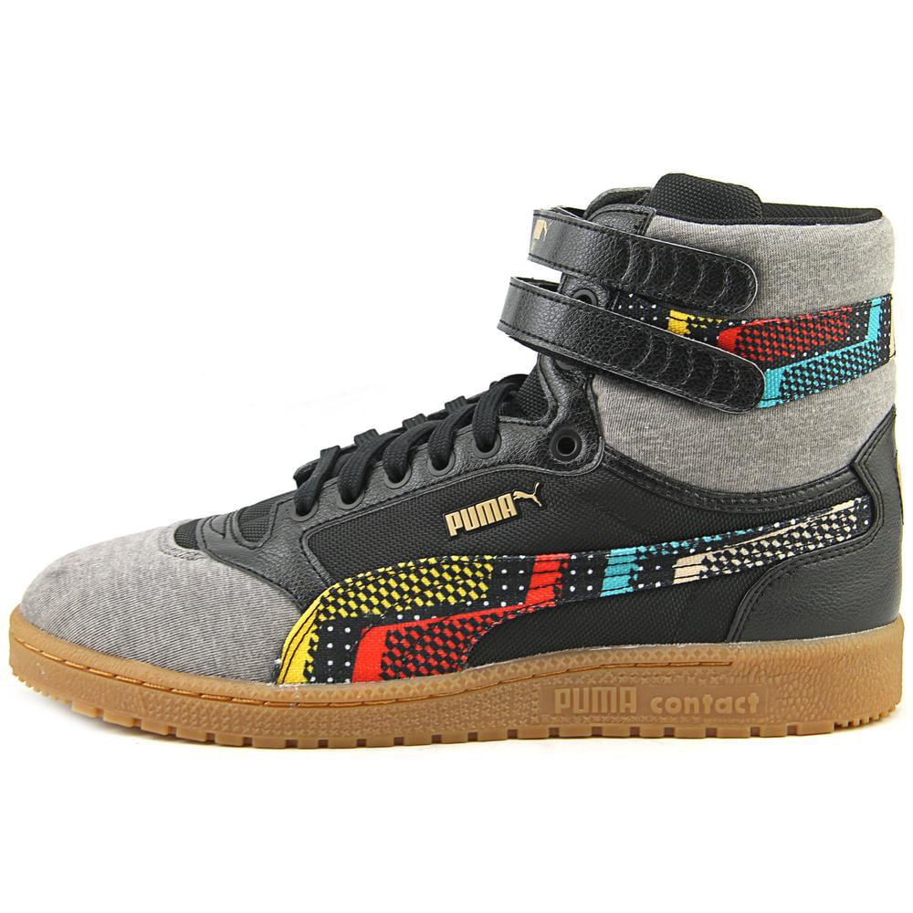 507ed5f22079 Puma - Puma Sky II Hi BHM Ram Round Toe Canvas Sneakers - Walmart.com
