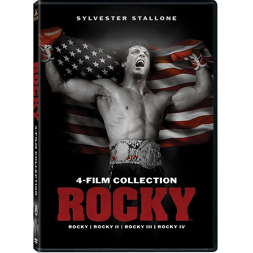 Rocky 4-Film Collection: Rocky / Rocky II / Rocky III / Rocky IV (With INSTAWATCH)