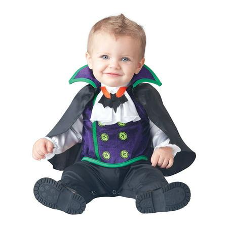 Infant Count Cutie Vampire Costume by Incharacter Costumes LLC? 16023 (Vampire Costume Teenage Girl)