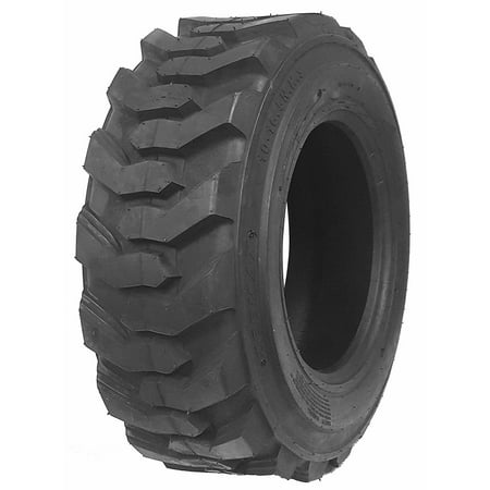 One New ZEEMAX Heavy Duty 12-16.5/12PR Skid Steer Tire for Bobcat w/ Rim
