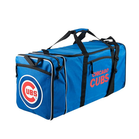 "MLB Chicago Cubs ""Steal"" 12""H x 28""L x 11"" W Duffel Bag (Mlb Duffel Bag)"