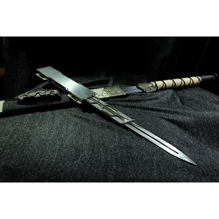 LAMINATED POSTER Han Jian Assassin's Creed Hidden Sword Hidden Blade Poster Print 24 x (Assassin's Creed Altair Hidden Blade)