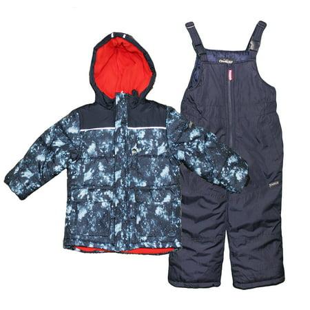 1bbd41a50889 Oshkosh B gosh - OshKosh Toddler Boys Heavy Weight Snowsuit Winter ...