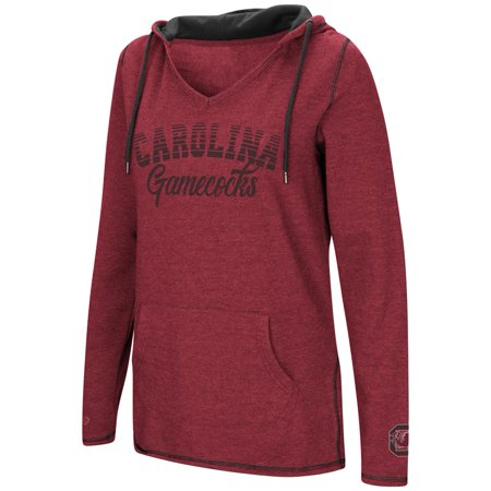 Colosseum Athletics - South Carolina Gamecocks Ladies V-Neck Hoodie  Pullover Sweatshirt - Walmart.com 21ebccecb8