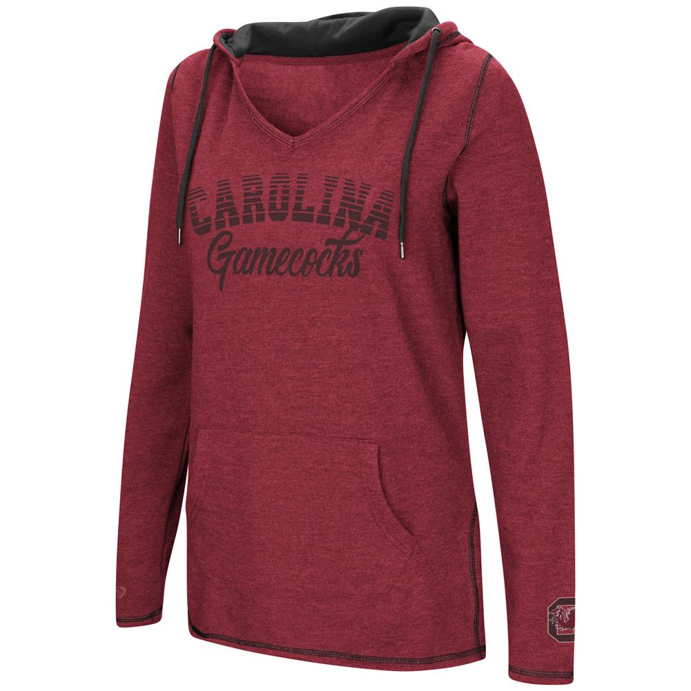 South Carolina Gamecocks Ladies V-Neck Hoodie Pullover Sweatshirt