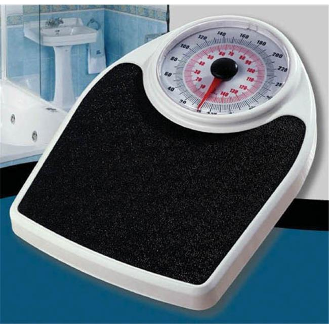 Complete Medical 2196 Personal Large Face Dial Floor Scale 330 No.  Capacity