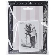 LaBlanche Silicone Stamp, 2 by 3.5-Inch, Wise Parrot Multi-Colored