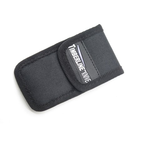 TIMBERLINE SMALL / MEDIUM BLACK NYLON FOLDING FOLDER POCKET KNIFE SHEATH