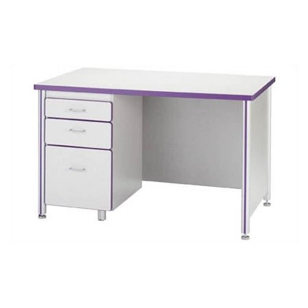 "Jonti-Craft Laminate 66"" Student Computer Desk"