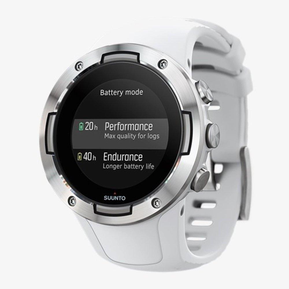 Suunto 5 Compact GPS sports watch - White