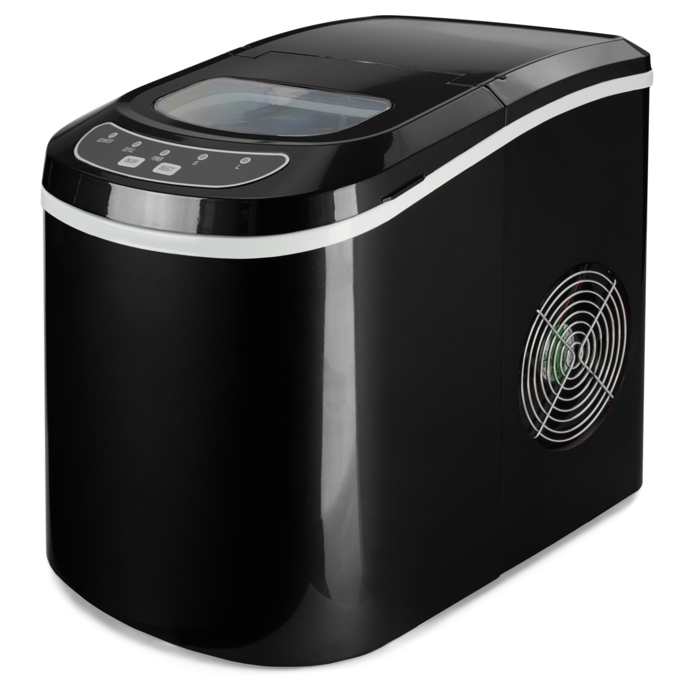 Best Choice Products Compact Digital Ice Maker w/ 2 Cube Sizes (Black, 26 Lbs. of Ice Daily)