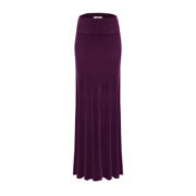 High Waisted Maxi Skirt Long Floor Length Maxi Skirt for Women, Knit Skirts, USA