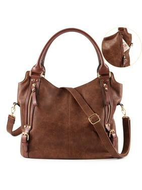 7d421a25909dc Product Image Plambag Women Faux Leather Hobo Handbag Large Tote Purse