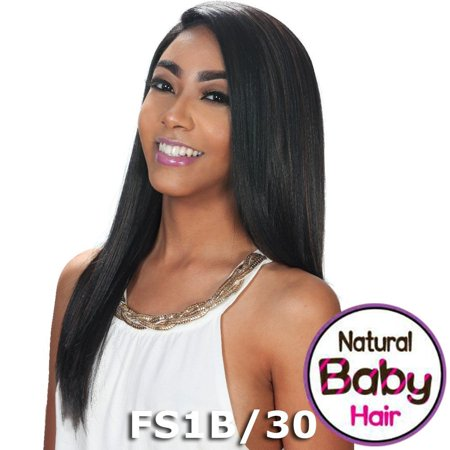 Sis Slay Natural Baby Hair Lace Front Wig - BIEN (1 Jet Black)