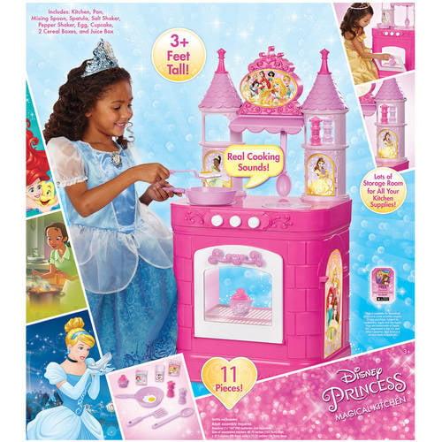 disney princess magical play kitchen - walmart