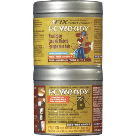 PC PRODUCTS 83338 Epoxy Adhesive Can 6 00 oz Tan Not Rated