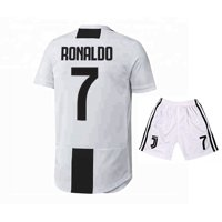 48dcf4fd0 Product Image Ronaldo Juventus 7 Home Soccer Jersey   Shorts 2019 White