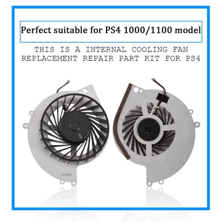 Ymiko Internal Cooling Fan Replacement Repair Part Kit for SONY Playstation 4 PS4 1000/1100 Model, Cooling Fan PS4