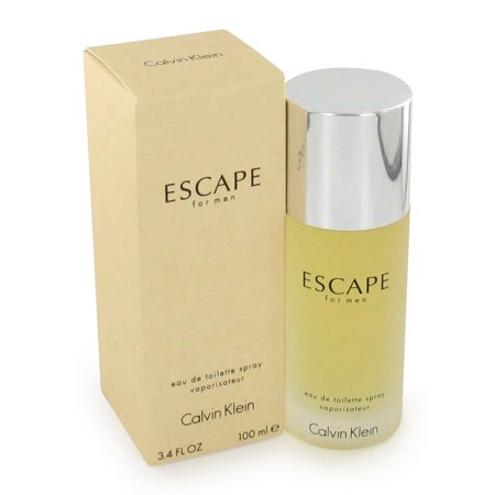 ESCAPE by Calvin Klein for Men Eau De Toilette Spray 3.4 oz