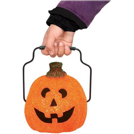 Seasons Halloween Jack-O-Lantern Trick-Or-Treat 5.5