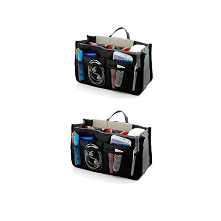 - StyleTech Travel Insert Accessories Compartment Bag Durable Multi-Pocket Insert-Organizer Tote Bag [2 Pack]