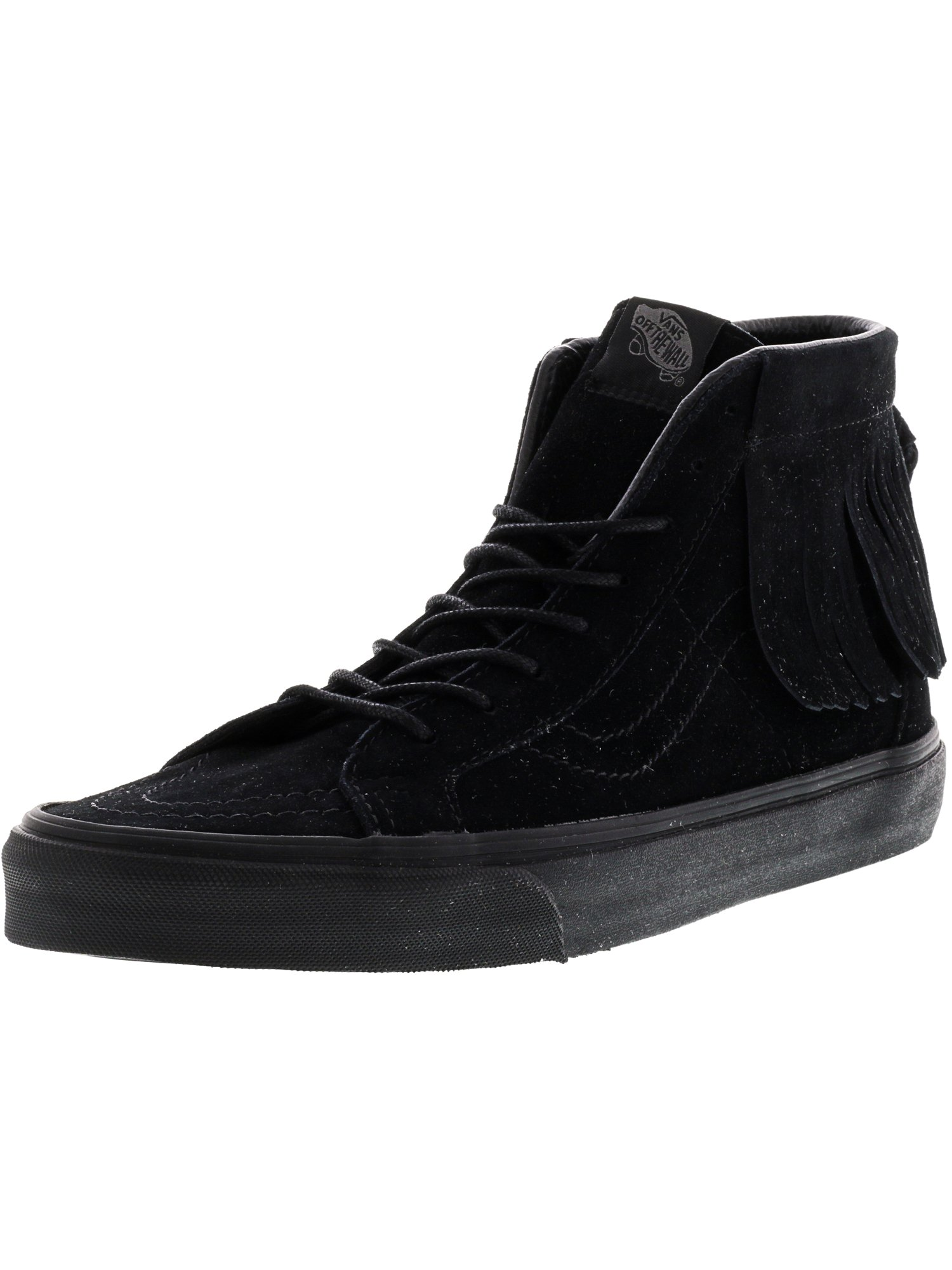 Vans Men's Sk8-Hi Moc Suede Black / High-Top Skateboarding Shoe - 10M