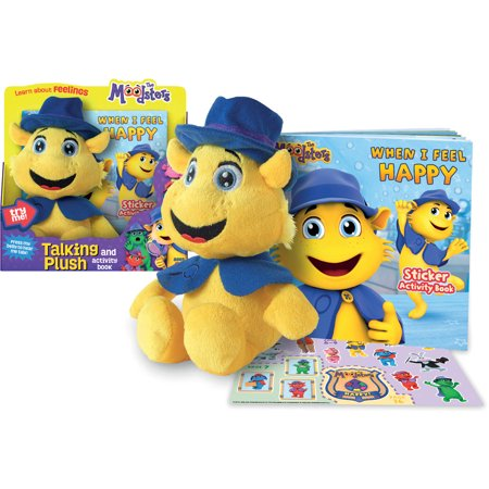 Moodsters Coz Plush with Sound and Activity (Activity Plush)