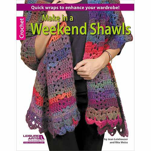 Leisure Arts, Make In A Weekend Shawls