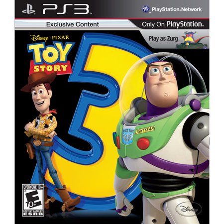 Toy Story 3 The Video Game - Playstation 3 Disney (Best Ps3 Story Games)
