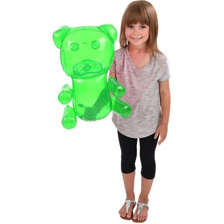 Delicious Candy Large Green Gummy Bear Animal Inflatable 18