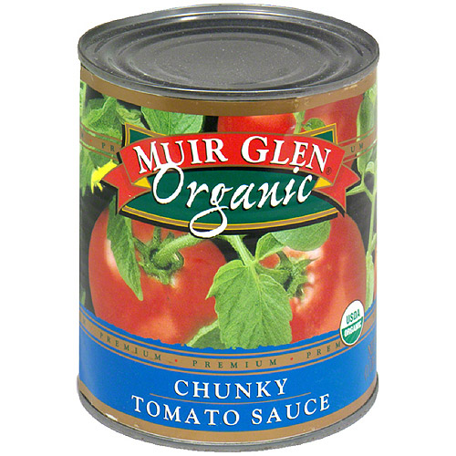 Muir Glen Organic Chunky Tomato Sauce, 28 oz (Pack of 6)