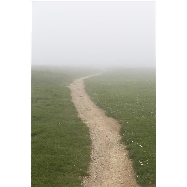 Posterazzi DPI12279534 A Dirt Path in The Fog - South Shields Tyne & Wear England Poster Print - 12 x 19 in. - image 1 de 1