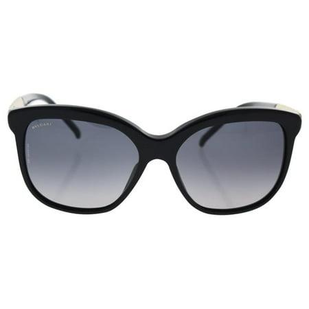 Bvlgari BV8155 501/T3 - women's Black/Grey Gradient Polarized Sunglasses